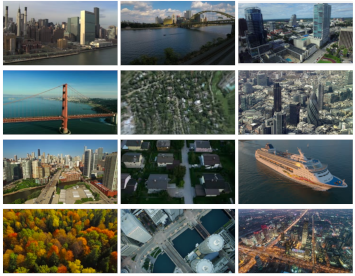 Machine learning - aerial footage classifier