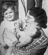 John Cleese, age 2