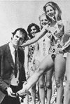 Cleese at beauty contest
